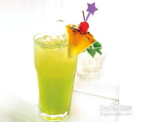 芹菜菠萝柠檬汁